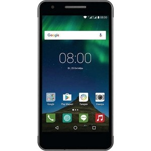 Смартфон Philips Xenium X588 32Gb черный смартфон htc u play 32gb brilliant black черный 99halv044 00
