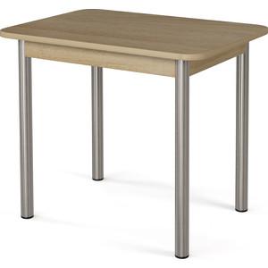 Стол обеденный МегаЭлатон Ницца дуб щвейцарский мебельтрия стол обеденный ницца см 217 01 1 бежевый с рисунком кожа венге коричневый