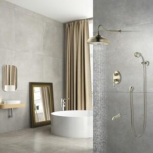 Душевая система Lemark Villa для ванны и душа, встраиваемый (LM4822B) душевая система lemark для ванны lm4922cw