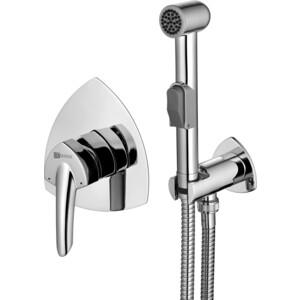 Смеситель встраиваемый Lemark Mars с гигиеническим душем (LM3519C) смеситель с душем недорого купить