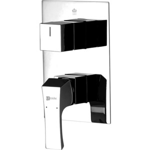 Смеситель встраиваемый для ванны и душа Lemark Unit (LM4527C) смеситель для ванны lemark unit lm4545c