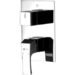 Смеситель встраиваемый для ванны и душа Lemark Unit (LM4528C) смеситель lemark unit lm4519c