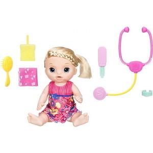 Интерактивная кукла Hasbro Baby Alive Малышка у врача C0957121 hasbro кукла рапунцель принцессы дисней
