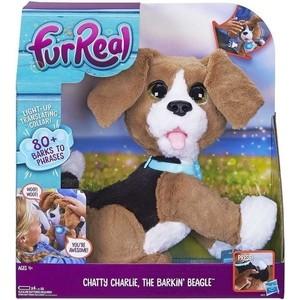 Интерактивная игрушка Hasbro FurRealFrends Говорящий щенок B9070121 оружие игрушечное hasbro hasbro бластер nerf n strike mega rotofury