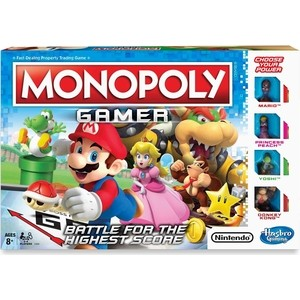 Hasbro Games Монополия Геймер C1815121 оружие игрушечное hasbro hasbro бластер nerf n strike mega rotofury