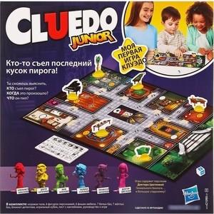 Hasbro Games Моя первая игра - Клуэдо C1293121 оружие игрушечное hasbro hasbro бластер nerf n strike mega rotofury