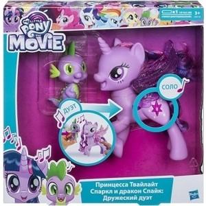 Фотография товара hasbro My Little Pony Сияние Поющая Твайлайт Спаркл и Спайк C0718121 (807494)