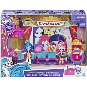Hasbro My Little Pony Equestria Girls Игровой набор мини-кукол Кинотеатр C0409EU4