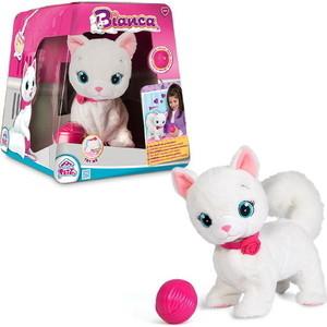 IMC Toys Кошка Bianca интерактивная, эл/мех, в комплекте с клубком, выполняет 5 действий (95847)