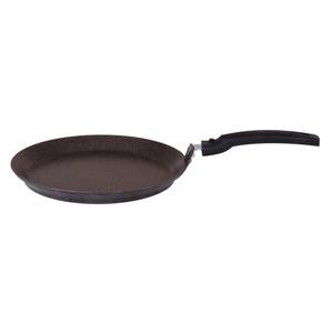 Сковорода для блинов d 22 см Kukmara Кофейный мрамор (сбмк220а) сковорода для блинов kukmara фисташковый мрамор с антипригарным покрытием диаметр 24 см