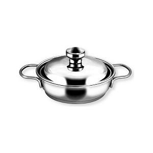 Сковорода 0.5 л с крышкой Амет Прима (1с744 2 ручки) сковорода амет классика прима d 26 см 1с747