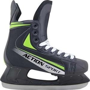 Коньки Action PW-434 хоккейные р. 37