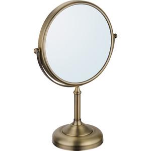 Зеркало косметическое настольное Fixsen Antik, бронза (FX-61121A) зеркало двухстороннее tatkraft venus настольное диаметр 17 см