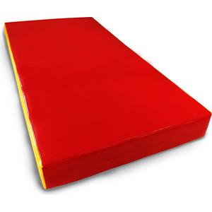 Мат КМС номер 1 (100х50х10см) красный/желтый mymei номер м
