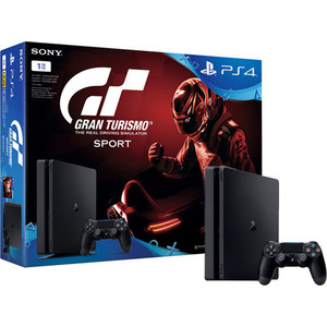 Игровая приставка Sony PlayStation 4 1Tb + Gran Turismo Sport игровая приставка sony playstation 4 1tb call of duty ww ii
