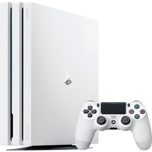 Игровая приставка Sony PlayStation 4 Pro 1Tb white игровая приставка sony playstation 4 1tb call of duty ww ii