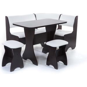 Набор мебели для кухни Бител Тюльпан - однотонный (венге, Борнео милк, венге) набор мебели для кухни бител орхидея однотонный венге борнео умбер венге
