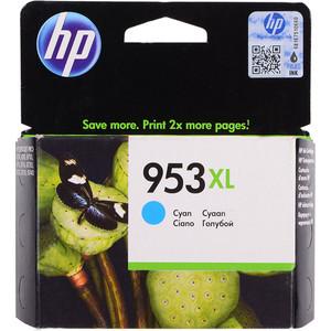 Картридж HP F6U16AE №953XL голубой 1600 стр. hp 932xl cn053ae