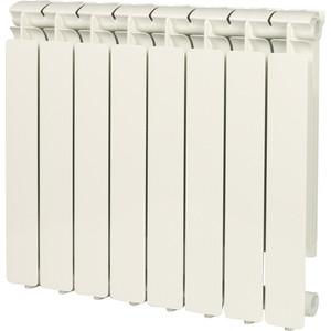 Радиатор отопления STOUT Bravo 500 8 секций алюминиевый боковое подключение warma 500 85 8 секций