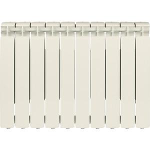 Радиатор отопления STOUT Bravo 500 10 секций алюминиевый боковое подключение радиатор отопления алюминиевый radena 500 85 10 секц