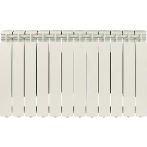 Радиатор отопления STOUT Bravo 500 12 секций алюминиевый боковое подключение радиатор отопления алюминиевый halsen 350 80 12