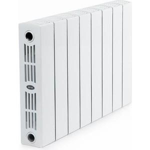 Радиатор отопления RIFAR SUPReMO 350 8 секций биметаллический боковое подключение germanium 350 8 секций