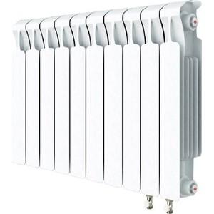 Радиатор отопления RIFAR MONOLIT VENTIL 500 MVR 10 секций биметаллический нижнее правое подключение алюминиевый радиатор rifar alum ventil avr 500 14