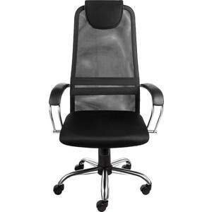 Кресло Алвест AV 142 CH (142 CH) МК кз/TW сетка/сетка односл 311/455/470 черн/черн/черная кресло алвест av 215 pl tw сетка 452 455 син черн