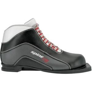 Ботинки лыжные Spine 75 мм X5 (кожа) 39р. spine x5 180 44