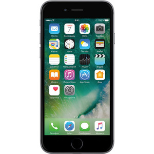 Смартфон Apple iPhone 6s 32Gb Space Grey (восстановленный) apple iphone 6 plus восстановленный 64gb silver fgaj2ru a