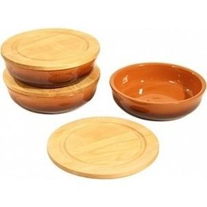 Фото - Набор посуды для холодца 3 предмета Вятская керамика (НБР ХОЛ) набор керамических горшков 3 предмета вятская керамика нбр вк 3т