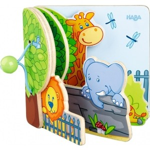 HABA Друзья зоопарка (300129) haba книга друзья на ферме