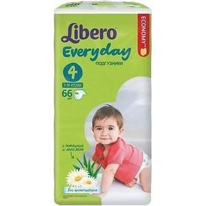 Libero Подгузники детские Every Day макси 7-18кг 66шт упаковка мега libero подгузники детские every day миди 4 9кг 46шт упаковка экономичная