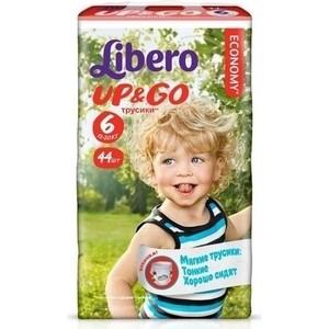 Libero Трусы детские одноразовые Up&Go экстра лардж 13-20кг 44шт упаковка мега
