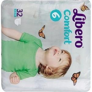 Libero Подгузники детские Комфорт экстра лардж 12-22кг 32шт упаковка экономичная libero подгузники детские every day экстра лардж 11 25кг 16шт упаковка стандартная