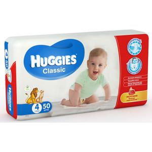 Huggies Подгузники CLASSIC Размер 4 7-18кг 50шт
