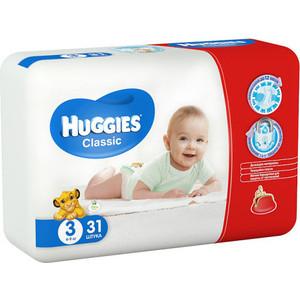 Фотография товара huggies Подгузники CLASSIC Размер 3 4-9кг 31шт (808528)