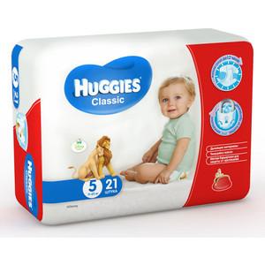 Фотография товара huggies Подгузники CLASSIC Размер 5 11-25кг 21шт (808529)
