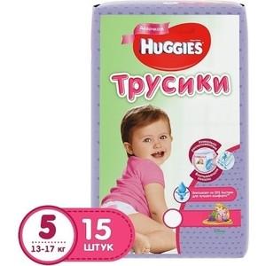 Huggies Подгузники-трусики Annapurna Размер 5 13-17кг 15шт для девочек