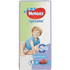 Huggies Подгузники-трусики Annapurna Размер 6 16-22кг 44шт для мальчиков 1pcs original hobbywing platinum 100a v3 high performance esc for align trex 550 600 700 rc helicopter fixed wing esc