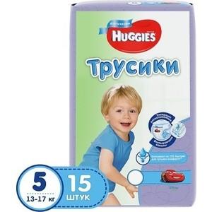 Huggies Подгузники-трусики Annapurna Размер 5 13-17кг 15шт для мальчиков