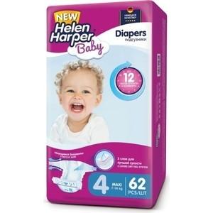 Helen Harper Подгузники детские Baby Maxi 7-18 кг/7-14 кг 62шт