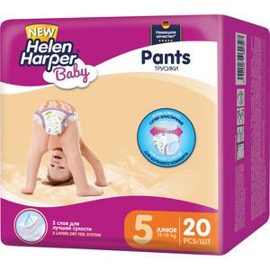Helen Harper Детские подгузники-трусики Baby junior 12-18кг 20шт