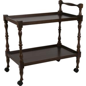 Стол сервировочный Мебелик Бридж средне-коричневый