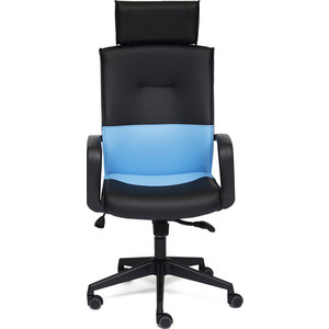 Кресло TetChair MODERN-1 черный/синий OH1014 qcbxyyxh черный синий