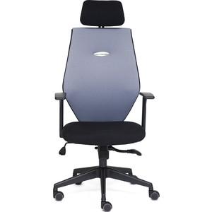 где купить Кресло TetChair RINUS-6 черный/серый OH205/OH217 по лучшей цене