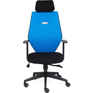 где купить Кресло TetChair RINUS-6 черный/синий OH205/OH208 по лучшей цене