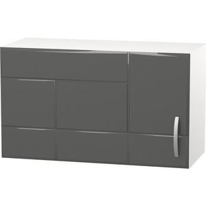 Шкаф навесной с дверью СМК Виктория 60х36