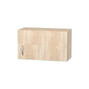 Шкаф навесной с дверью СМК Кармэн 60х36 дуб сонома шкаф купе угловой диван ру байкал 45 7 дуб сонома