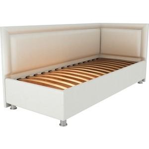 Кровать OrthoSleep Барби молочный ортопед.основание 120х200 правый угол диван кровать смк дюссельдорф 147 б 2д у1пф правый угол 352 alba ash